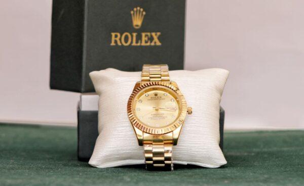 ROLEX men's watch Full Golden